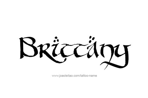 brittany tattoo designs brittay name images search