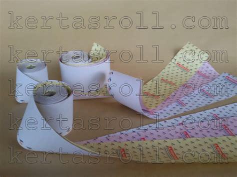 Struk Kertas Kasir Ncr Roll Paper 3ply Putih Kuning Hijau 7558 kertas kasir jual kertas kasir thermal kasir register