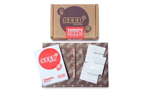 Seed Pantry by Heritage Tomato Seeds Box By Seed Pantry