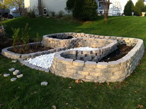 Interior Decorative Cinder Blocks Retaining Wall Deck Decorative Garden Wall Blocks