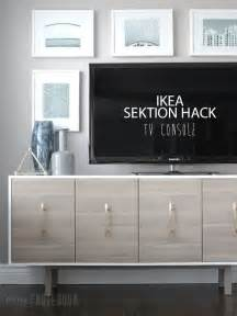 ikea tv cabinet hack ikea sektion hack tv console pink little notebookpink