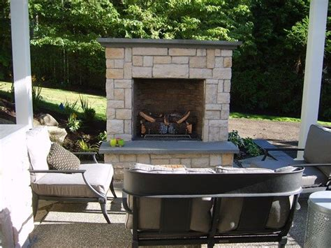 outdoor gas fireplace kit best 25 outdoor fireplaces ideas on outdoor