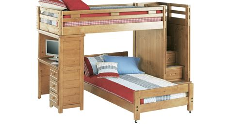 bunk bed with desk creekside taffy bunk bed with desk bunk desk