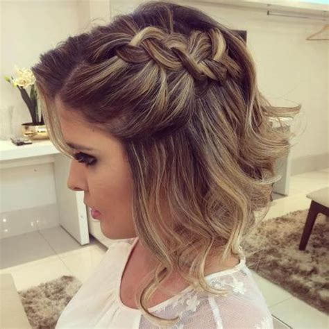 prom hairstyles side curls with braid 50 prom hairstyles for short hair hair motive hair motive
