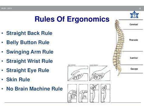 Good Posture At Desk Bohs Occupational Health Ergonomics