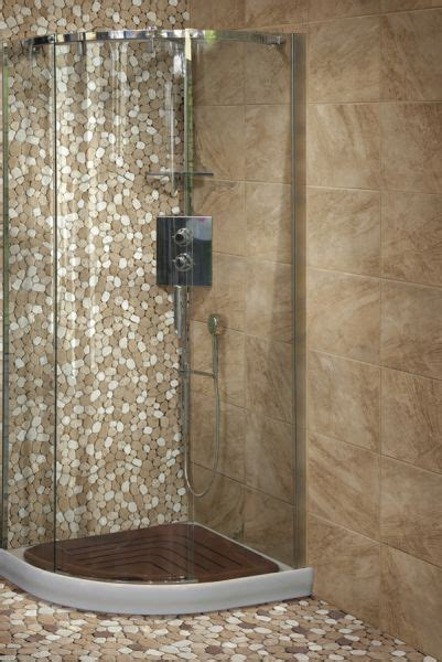 Modern Badezimmer Design 2358 by Pavers Bricks Of Glasses Mosa 239 Ques Et Galets Taro