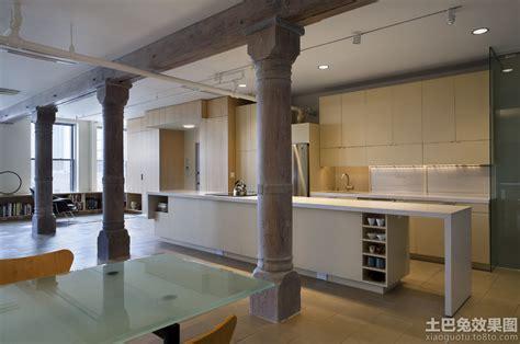 Open Loft House Plans 木制客厅柱子装修效果图 土巴兔装修效果图