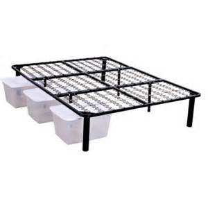 Steel Platform Bed Frame Xl Steel Platform Bed Frame Walmart