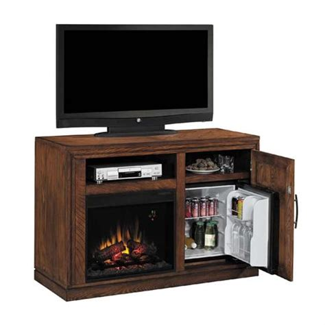 tv console with electric fireplace classic partytime tv console with electric fireplace