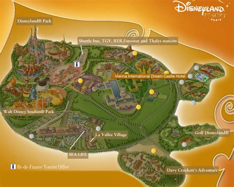 Homeplanning disneyland paris maps
