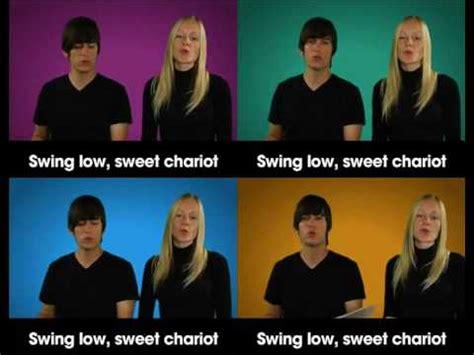 swing low sweet chariot gospel choir swing low sweet chariot gospel choir parts youtube