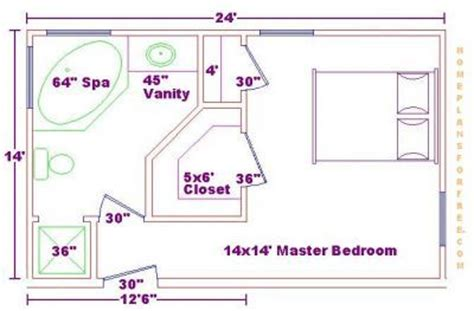 size of master bathroom master bedroom 14x24 addition floor plans with master