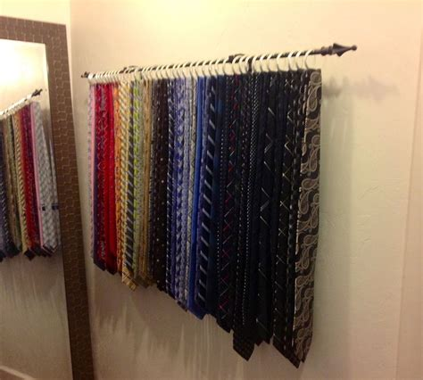 Ideas For Wall Mounted Tie Rack Design 97 Best Images About Tie Storage Ideas On