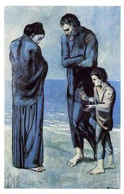 picasso paintings the tragedy picasso tragedy
