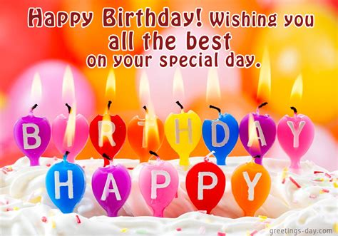 Happy Birthday My Best Wishes For You Happy Birthday Online Wishes And Greetings