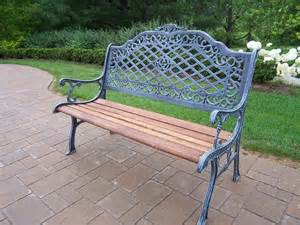 iron bench outdoor cast iron outdoor bench