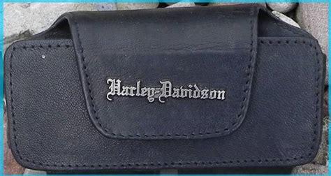 Harley Davidson 2272 Crono On 5cm A5 harley davidson handy tasche mit harley logo aus leder kaufen metal box de