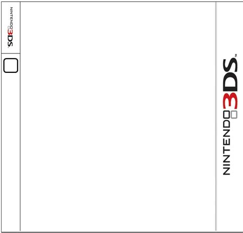 Nintendo3ds Template By Lizardkid123 On Deviantart 3ds Xl Skin Template