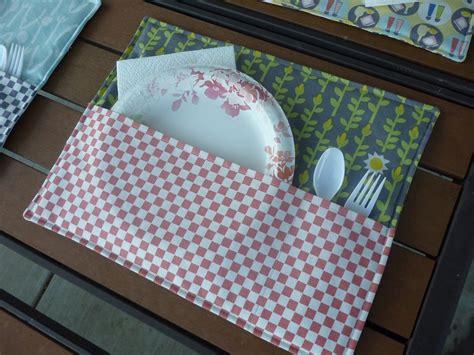 como hacer manteles individuales manteles individuales para la terraza manualidades