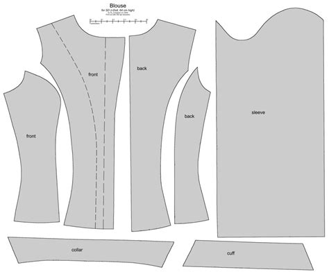 shirt pattern latest sd bjd i doll female blouse by scargeear on deviantart