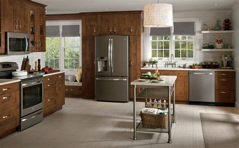 designed kitchen appliances slate country kitchen photo design ge appliances