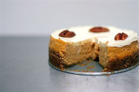 Smitten Kitchen Pumpkin Cheesecake by Bourbon Pumpkin Cheesecake Smitten Kitchen