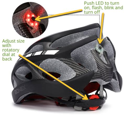 best bike helmet light bicycle helmets with lights bicycling and the best bike