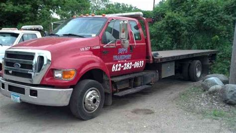 tow truck bed ford f 650 2004 flatbeds rollbacks
