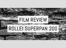 Rollei Films ~ EMULSIVE Ilford Sfx 200 Review