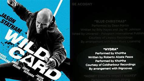 new pics synopsis for statham s wild card manlymovie khomha s track hydra featured in the new jason statham