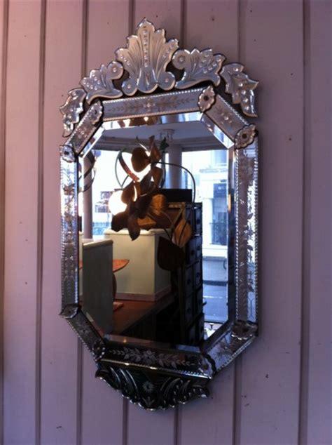 venetian mirror   pigeon vintage furniture