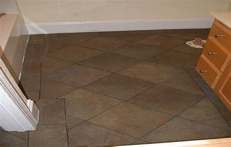 Flooring Ideas For Small Bathroom Home Design Interior Floor Tile Pattern Ideas For A