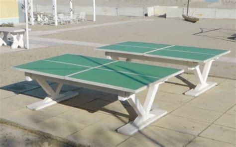 tavolo ping pong cemento santarini lucio