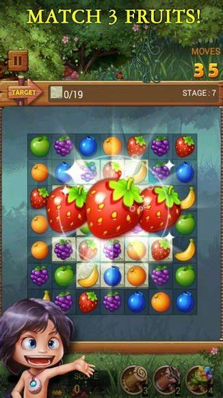 fruits forest rainbow apple mod unlimited coins  apk  android