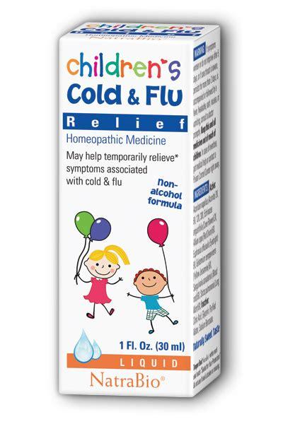 Natra Bio Children S Cold Flu Relief 30 Ml children s cold flu 1 fl oz 6 38ea from natra bio botanical labs