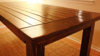 How To Make Dining Table How To Build A Wood Diy Dining Table