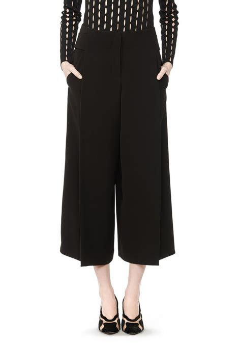 Wide Leg Cullote 2 wang wide leg culotte pant official site