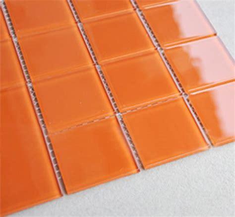 fliese orange wholesale orange glass mosaic tiles kitchen
