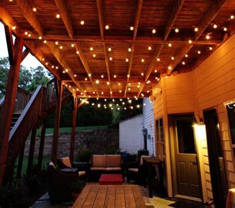 outdoor lighting amazing patio hanging lights patio