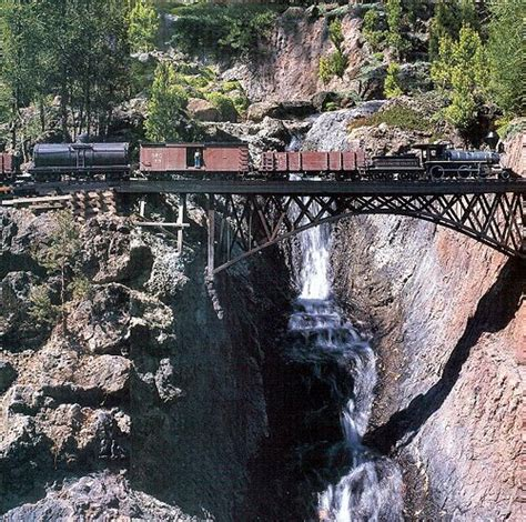 train layout water features a spectacular setting for a garden railway in the