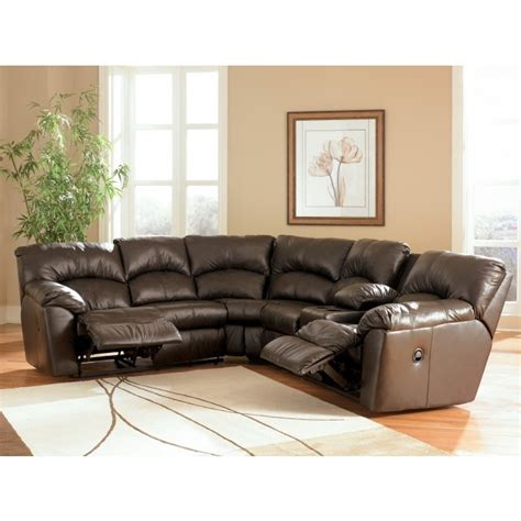 ashley leather sectionals ashley furniture signature designkellum chocolate sectional