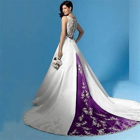 Lila Top Teal White purple and white wedding dresses junoir bridesmaid