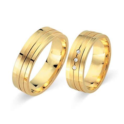 Eheringe 750er Gold by Trauringe 750er Gelbgold 3 Brillanten Wr0506 7s