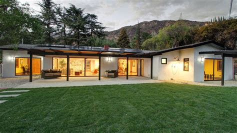 atomic ranch house plans mid century modern ranch house home of the day midcentury rambler in altadena la times