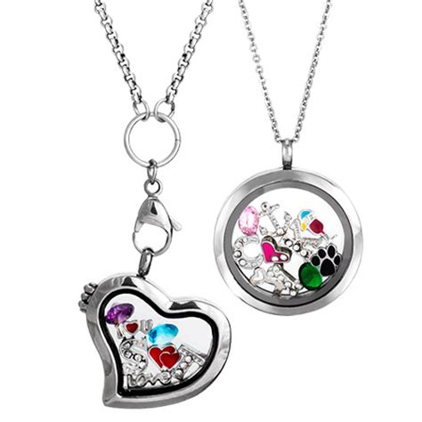 new build your own floating charm lockets evesaddiction