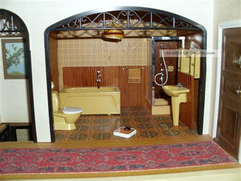 badezimmer j lundby puppenhausm 246 bel 1 18 badezimmer 70er j wanne wc
