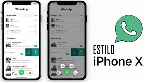como deixar o whatsapp igual do iphone x 2018