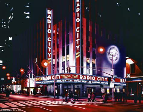 radio city featured organ for november 2008