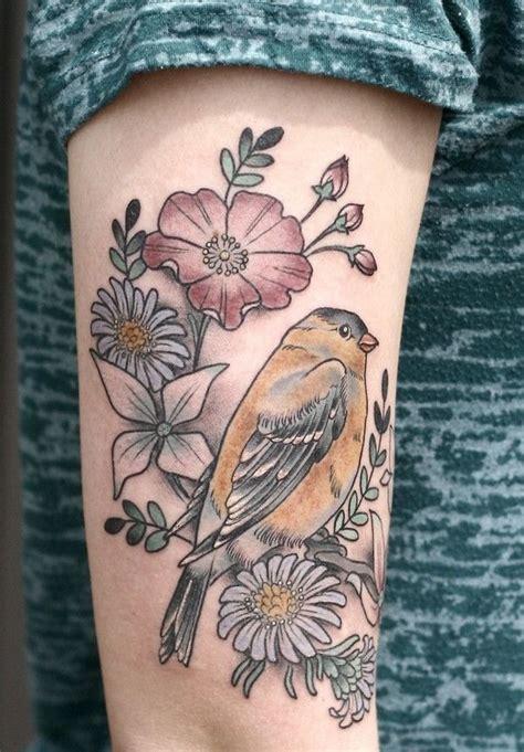 90 Astonishing Bird Tattoos Flower And Bird Tattoos
