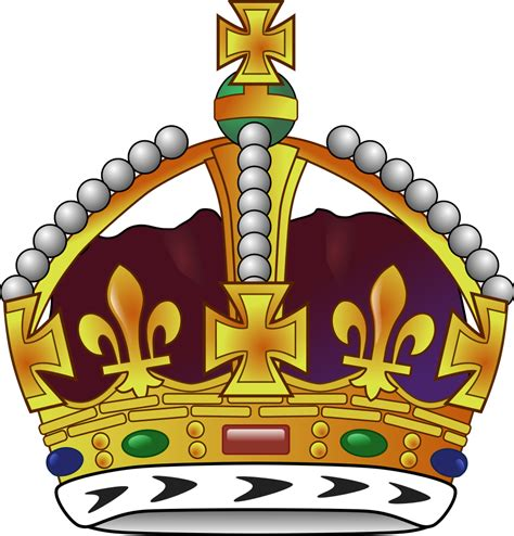 Crown 4 In 1 By Mithashop fichier couronne royale svg wikip 233 dia
